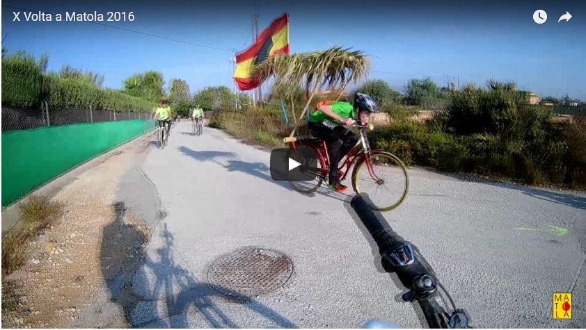 Video X Volta a Matola en bici – 2016