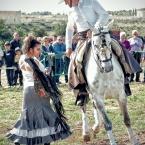 Bailando con caballos. Vicente Gonzalez